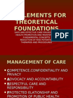 Supplements for Theoretical Foundations