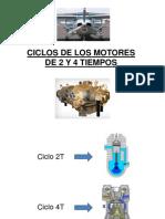 c. Ciclos de Los Motores 2 y 4t