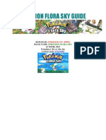 Pokemon Flora Sky Guide (English)