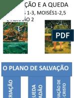 AULA 2 VELHO TESTAMENTO A CRIAÇÃO E A QUEDA GEN 1-3