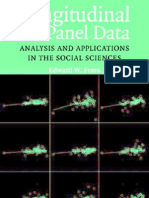 Longitudinal and Panel Data Analysis and Applications in the Social Sciences