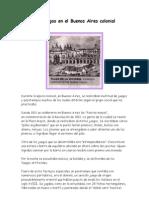 Juegos Coloniales 1810