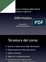 Informatica Scienze Motorie
