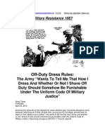 Military Resistance 10E7