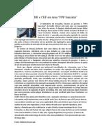 Notícias blog economia em conta gotas (Relatório Reservado)