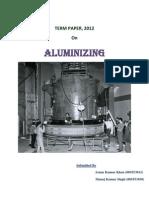 Aluminizing by (08MT3012 & 08MT1030) Atanu & Manoj