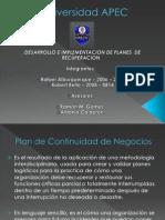 Plan De Cont. de Neg.