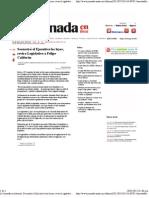 18-05-12 Secuestró el Ejecutivo las leyes, revira Legislativo a Felipe Calderón