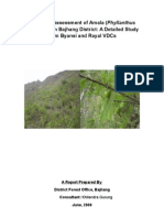 Assessment of Amala (Phyllanthus emblica) in Bajhang District, Nepal