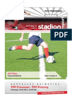 Stadionzeitung 12 Preying