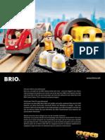 BRIO RW Consumer 2011 - trains en bois