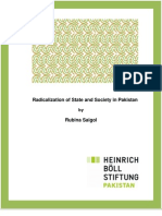 Radicalization of State and Society in Pakistan by Rubina Saigol