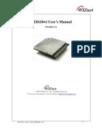 WIZ610WI User Manual Eng V1.1