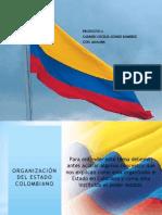 Organizacion Del Estado Colombiano