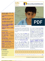 Defence for Children International-Palestine's Bulletin on Violations - Issue 19 - April  2012