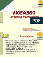 Juan Carlos Guzzardo - Biofango - Mi Mejor Experiencia