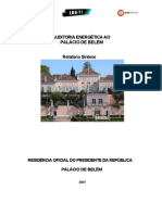 Auditoria Energetic A Ao Palacio de Belem - Relatorio Sintese