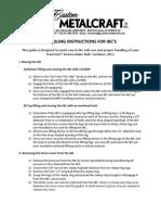 IBC Handling Guide