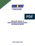 Lei de Obras - Recife - 16292
