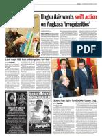 thesun 2008-12-24 page02 ungku aziz wants swift action on angkasa irregularities