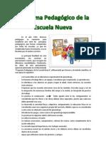 PROGRAMA PEDAGÓGICO DE LA ESCUELA NUEVA