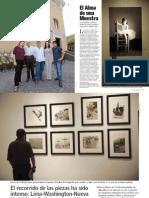 El Alma de una Muestra - Daphne Zileri | Caretas N° 2229 | Lima, 26 de abril de 2012. Pág. 52-54