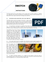 Float Switch Instructions