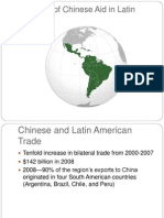 The Role of Chinese Aid in Latin America