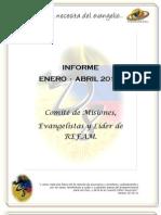 Informe Primer Trimestre - Directiva Misiones - Dto 8