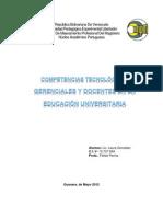 Actividad N° 1- Análisis crítico de las competencias tecnológicas