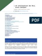Création et utilisation de DLL avec Delphi