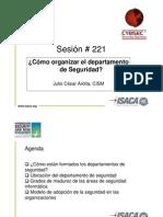 44 - InfoSec2009-Bogota-Ardita Organizacion Seguridad