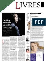 Supplément Le Monde des livres 2012.02.17