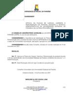 038-2007 Aprova Pccr Dos Docentes e Tec Adm Da Uepb