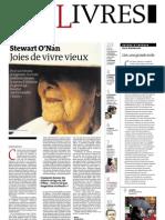 Supplément Le Monde des livres 2012.05.18