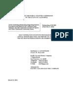 California Renewable Fuels Report Under the SGIP Rebate