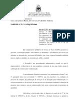 PARECER-PLC-2 Licitação fase Interna