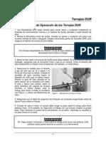 Manual de Operacion de Terrajas