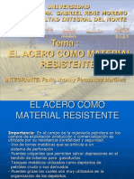 Grupo 9 - El Acero Como Material Resistente
