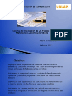 Sistema  Informacion Manufactura