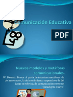 Plan  de Acción Comunicacación Educativa Maestria