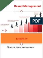 Lec 07 - Brand Management
