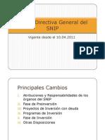 Nueva Directiva General Del SNIP-2011-GN