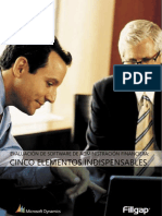 Evaluacion de Software de Administración Financiera - Cinco