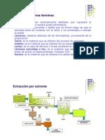 ACEITES de SEMILLAS Extraccion Solvente