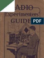 1923 Radio Experimenters Guide