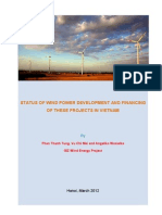 Status of Wind Power Development and Financing of These Projects in Vietnam en 09042012