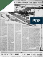Early Aviation Law History (1921)
