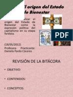 Estado de Bienestar o Keynesiano Sesion 18 de Mayo 1m
