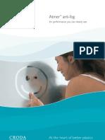 Atmer Anti-fog Brochure